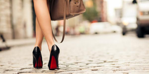 Походка на каблуках