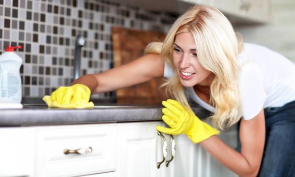 Уборка кухни дома