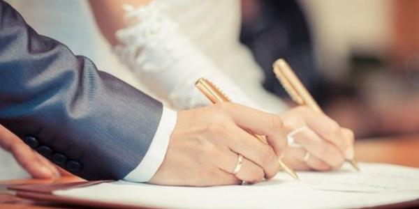 Регистрация брака: приметы